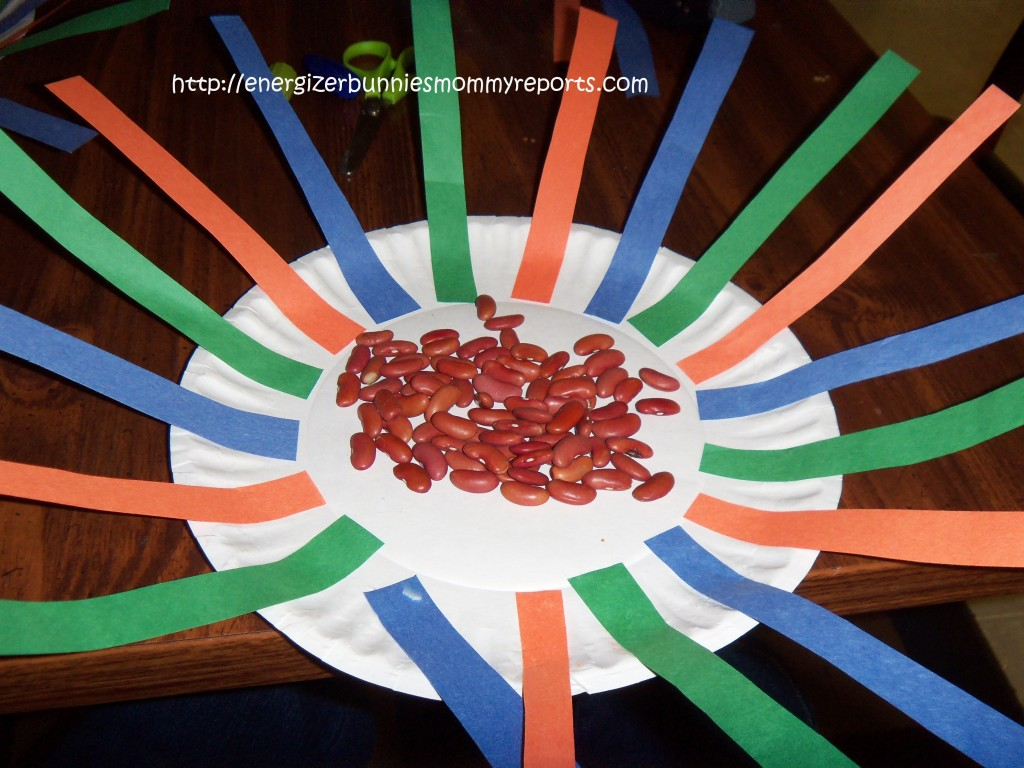 Paper Plate Tambourine Craft For Kids