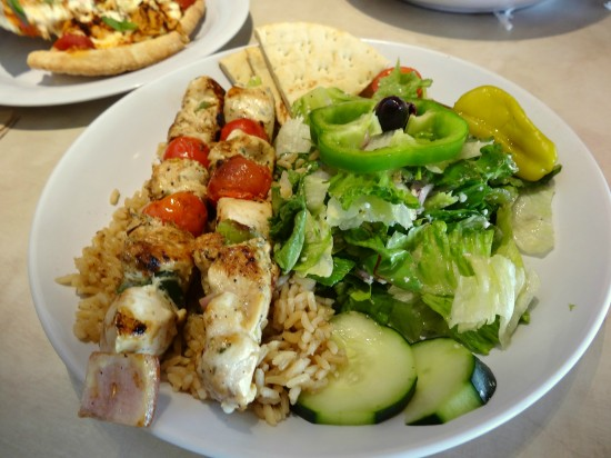 Zo S Kitchen Chicken Kabobs mediterranean meets south in zoes kitchen - mommy snippets