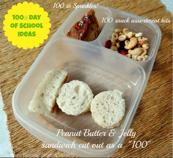 100th Day of School Ideas- Energizer Bunnies' Mommy Reports-Lunch Box