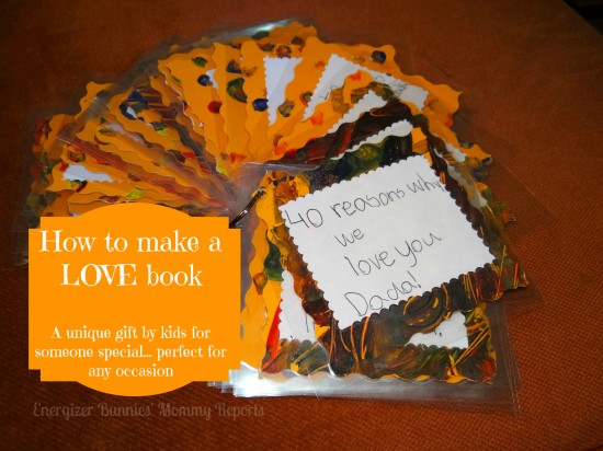 How To Make A Love Book Unique Kids39 Handmade Gift
