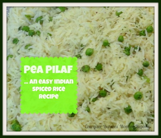 Pea Pilaf...an easy spiced rice recipe {Indian Soul Food ...