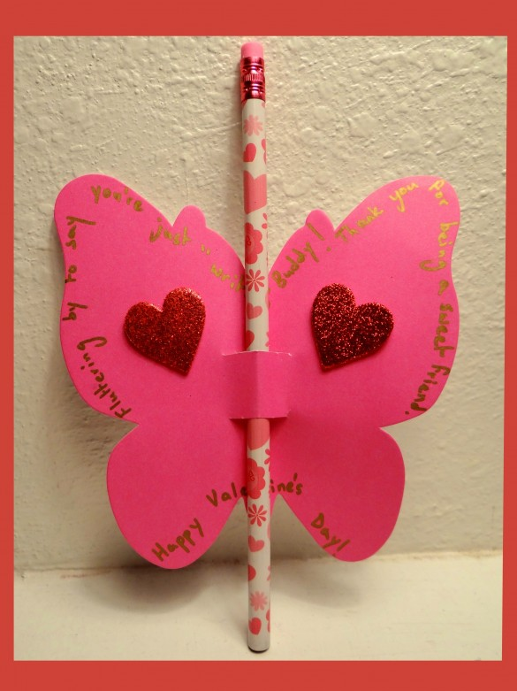 Easy to make, D.I.Y., Valentine's Day Butterfly Cards (with Tutorial)- Energizer Bunnies' Mommy Reports (1)