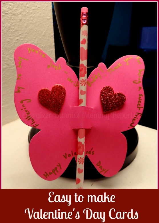 Easy To Make Valentine 39 S Day Butterfly Cards Tutorial