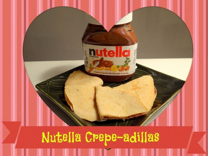 Nutella Crepe-adillas at Energizer Bunnies' Mommy Reports- #Nutella, #Crepes, #Pancakes, #BreakfastIdeas, #Foodie