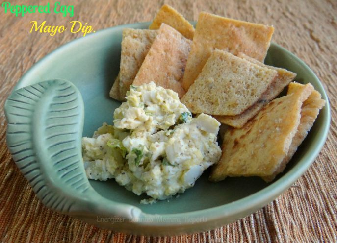 Peppered Egg Mayo Dip- Photo Copyright-Energizer Bunnies' Mommy Reports- #Recipe #Snack #Eggs