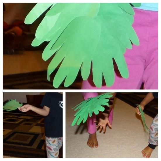easy to make hosanna branch wavers   a palm sunday craft