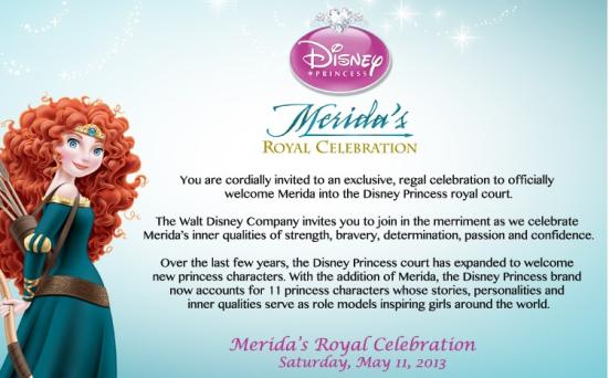 Crowning Princess Merida at Walt Disney World. Photo Copyright- Energizer Bunnies' Mommy Reports (1)