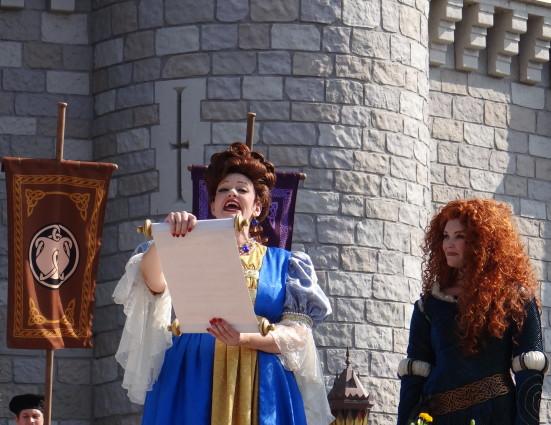 Crowning Princess Merida at Walt Disney World. Photo Copyright- Energizer Bunnies' Mommy Reports (31)