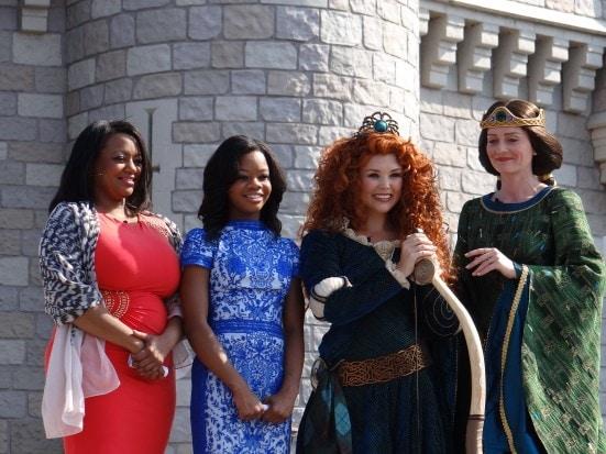 Crowning Princess Merida at Walt Disney World. Photo Copyright- Energizer Bunnies' Mommy Reports (49)