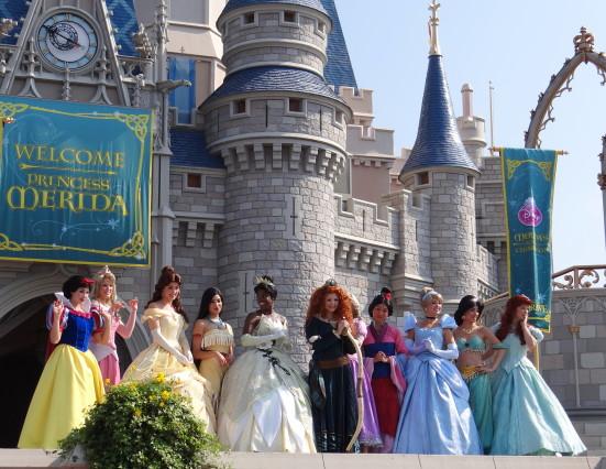 Crowning Princess Merida at Walt Disney World. Photo Copyright- Energizer Bunnies' Mommy Reports (54)