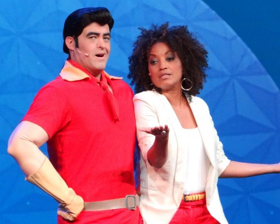 Thought this photograph aptly highlighted the fun side of Rene. Here she is in character with Gaston from Beauty & the Beast.