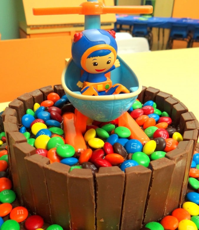 Easy Way To Make A Team Umizoomi Birthday Cake