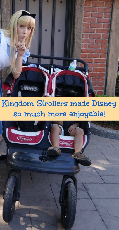 Kingdom Strollers made Disney so much more enjoyable!-Energizer Bunnies' Mommy Reports