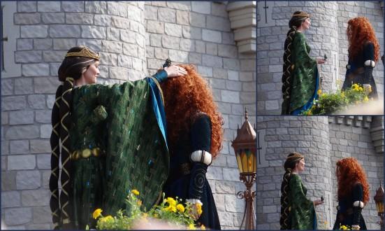 Crowning Princess Merida at Walt Disney World. Photo Copyright- Energizer Bunnies' Mommy Reports