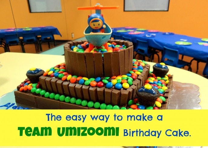 The easy way to make a Team Umizoomi Birthday Cake- Energizer Bunnies' Mommy Reports